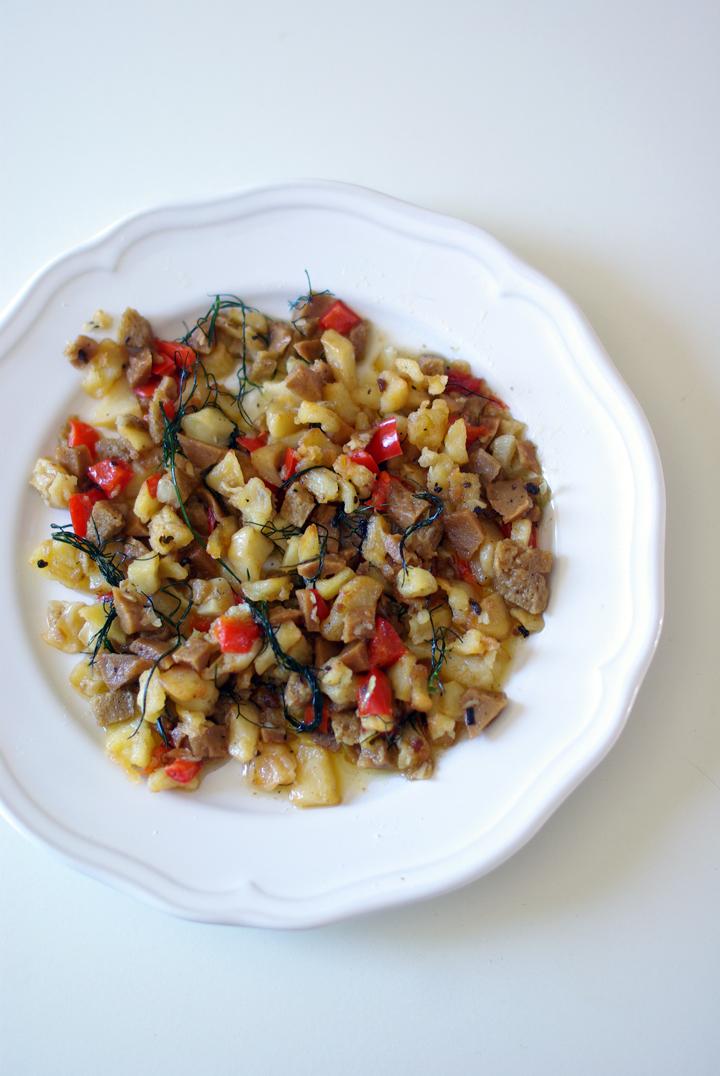 FRITO MALLORQUÍN (vegetariano)