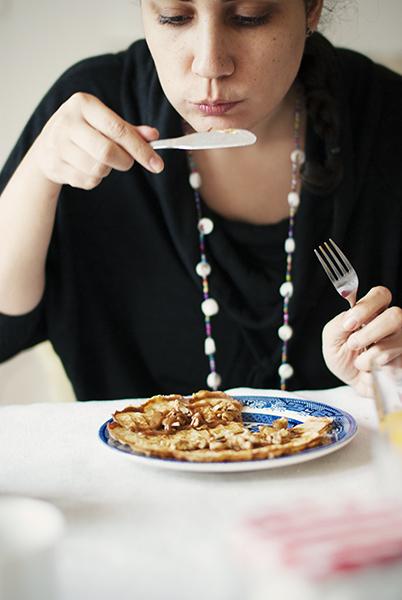Desayuno en casa con Fani Iglesias