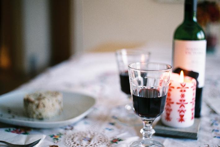 cocinando algo ligero: salteado de arroz con vegetales y vino
